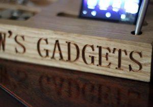Hout laten graveren gadgets Antwerpen
