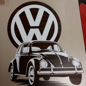VW Beetle wanddecoratie