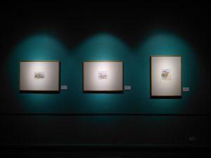 drie schilderijen